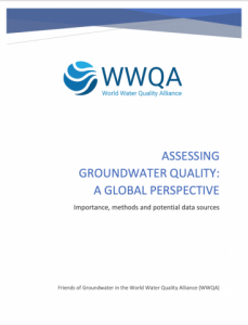 Report cover from: Groundwater Quality: A Global Perspective